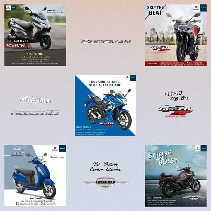#Powerfulperformance & #Iconicdesigns for a journey to the top Like #StarSuzuki offers high-performing 2-wheelers, Dilemmas Diluted caters to its #socialmediabranding needs with interactive #graphics, #resultoriented strategiesenable the brand achieve its #digitalmarketinggoals. https://t.co/c6MTdpaFMV