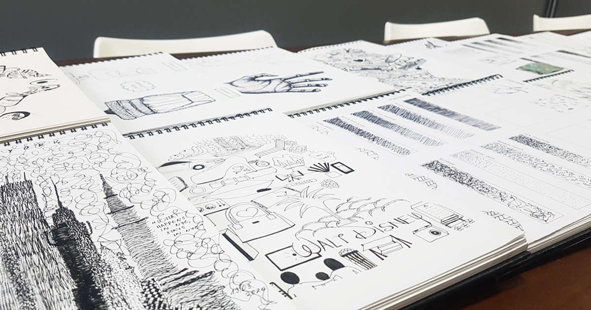 1st Year Design Student's SketchBooks – Talent at its best ✍️#designstudents #firstyears #talented #sketchingI https://t.co/3CrXuxhkwi