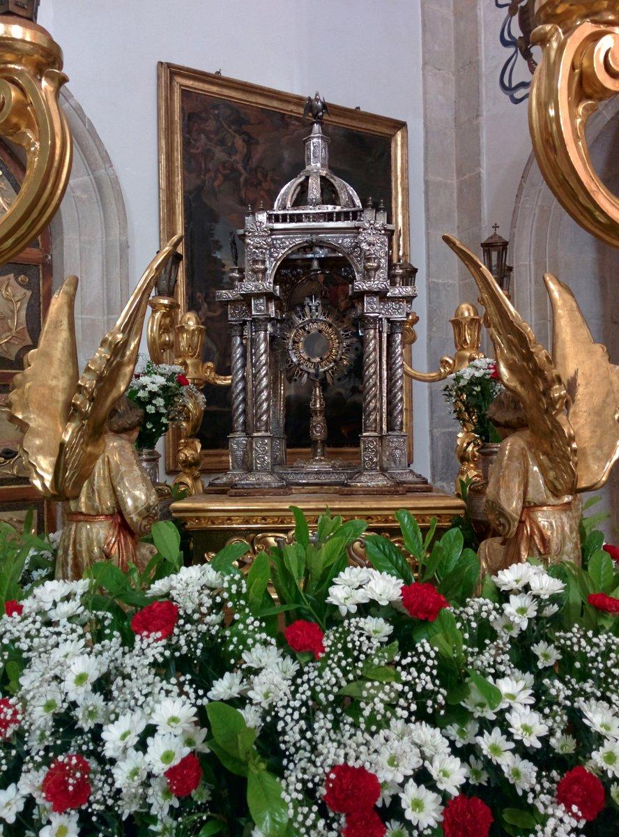 Ayer fue festivo en #CastillaLaMancha por el #CorpusChristi, pero en #Guadalajara lo celebramos en domingo. Este año no toca, aquí os dejo estas imágenes de otros años de la #Custodia de #Pastrana, las #alfombras de #Guadalajara y la plaza del Trigo de #Atienza #Desescalada https://t.co/GiYKkYK2N9