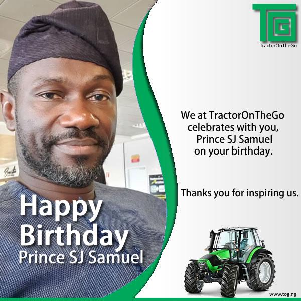 Happy Birthday Prince SJ Samuel.. Age with grace.