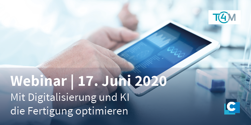 Optimize your production: Our expert Dr. @NicoleDrechsler will show you at the T4M - Trade Fair for Medical Technology how to successfully combine real and #digital production. Join now for free:  https://t.co/D95T7Ocbuu https://t.co/BDLG2IqBLh