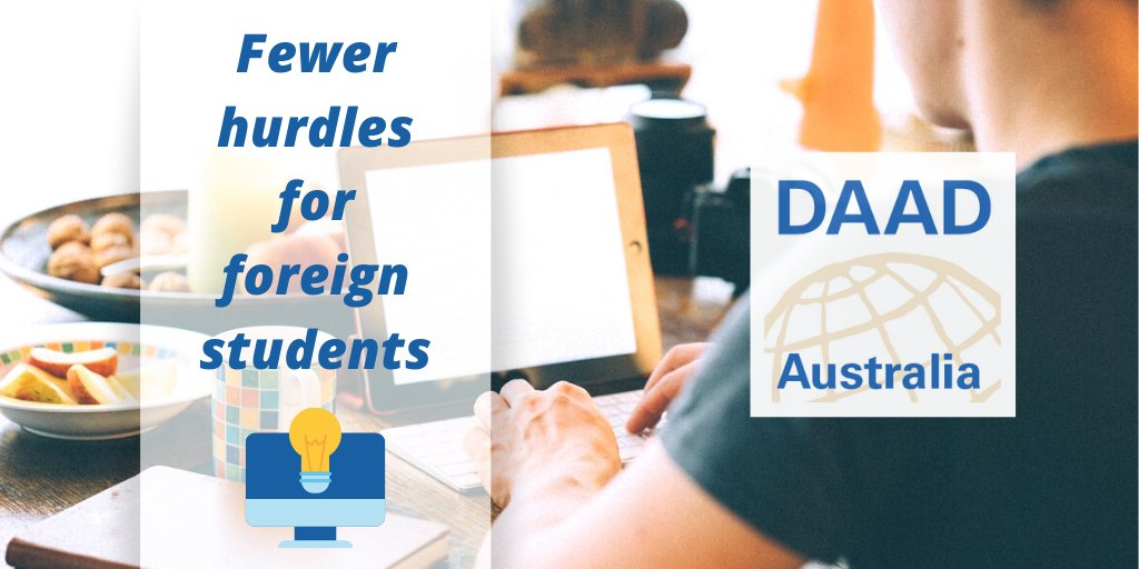 Have you heard? 🧐 In light of #covid19, the #DAAD is adapting its offerings to accommodate a combination of online & face-to-face learning/#research! #Funding recipients can also delay the start of their #scholarship by up to 6 mnths. 🌍 ℹ️Contact us for more info #Germany #de https://t.co/3tpf56BaHy