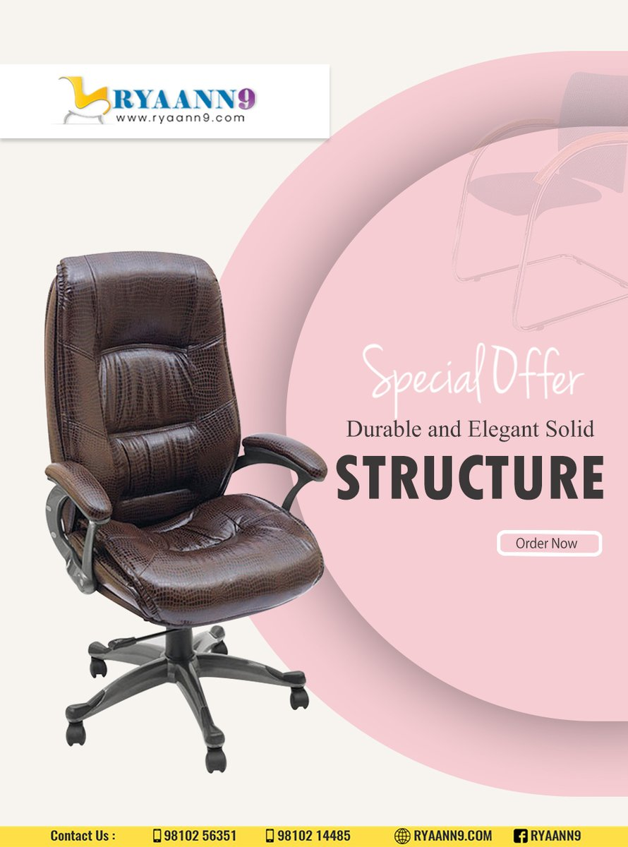 - Furniture Solutions. Affordable Prices. - Great Furniture. Better Prices. - Look for comfort. #RYAANN9 #MAHLAXMI #OFFICECHAIRS #OFFICETABLES For Further information please visit us: http://www.ryaann9.com  CALL US: 9810256351, 9810214485pic.twitter.com/wfdaJCtaby