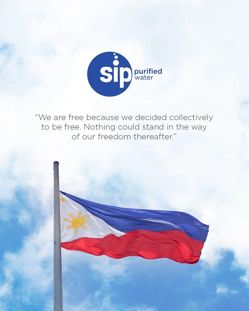 Maligayang Araw ng Kalayaan, Pilipinas 🇵🇭  #SipKaMuna https://t.co/qIgyo50AXG