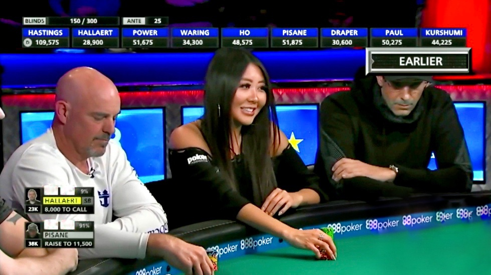 When you like the river card.... and your opponent does too 🤦🏻‍♀️ #WSOP