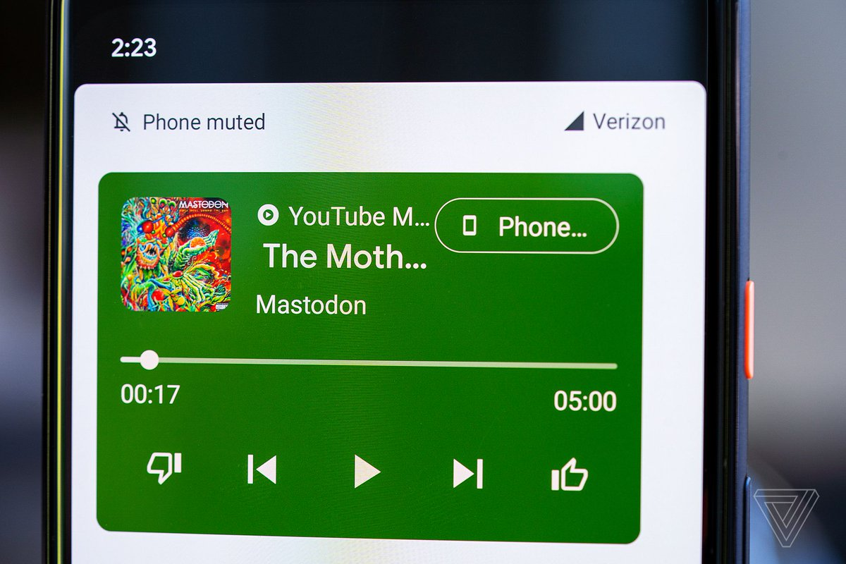 How to enable the new media controls in the Android 11 beta