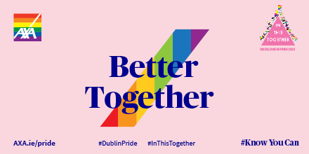 The parade will take a different format this year, and we are excited to continue our support for the first Digital @DublinPride Parade -we can still celebrate and join the parade from our homes! #knowyoucan  #DublinPride #Inthistogether https://t.co/T1yUmQIzLC