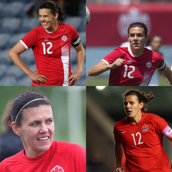Happy 37 birthday to Christine Sinclair . Hope that she has a wonderful birthday.