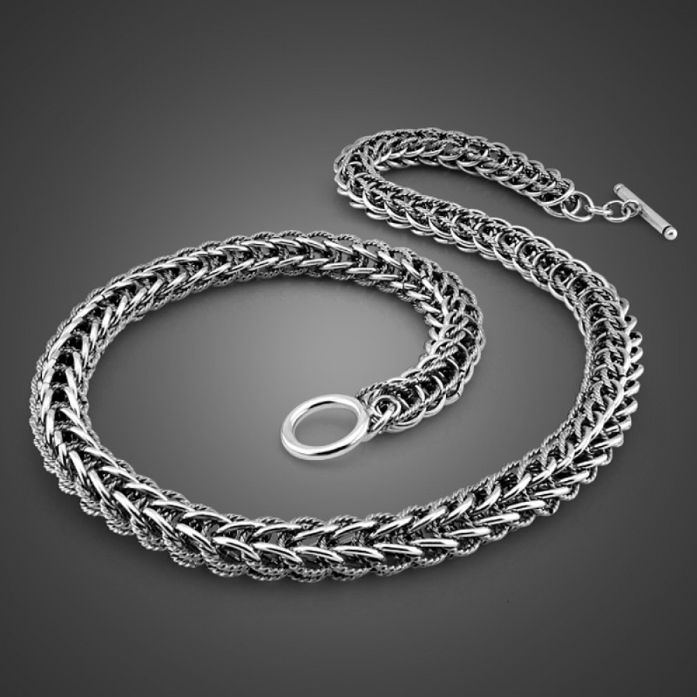 Men Dragon Necklace Retro Jewelry Fashion 10mm 56cm Sterling Silver Necklace.  https://ushopstyle.com  90.65 . . . . #luxury #autumnstyle pic.twitter.com/I9sSw3QDef