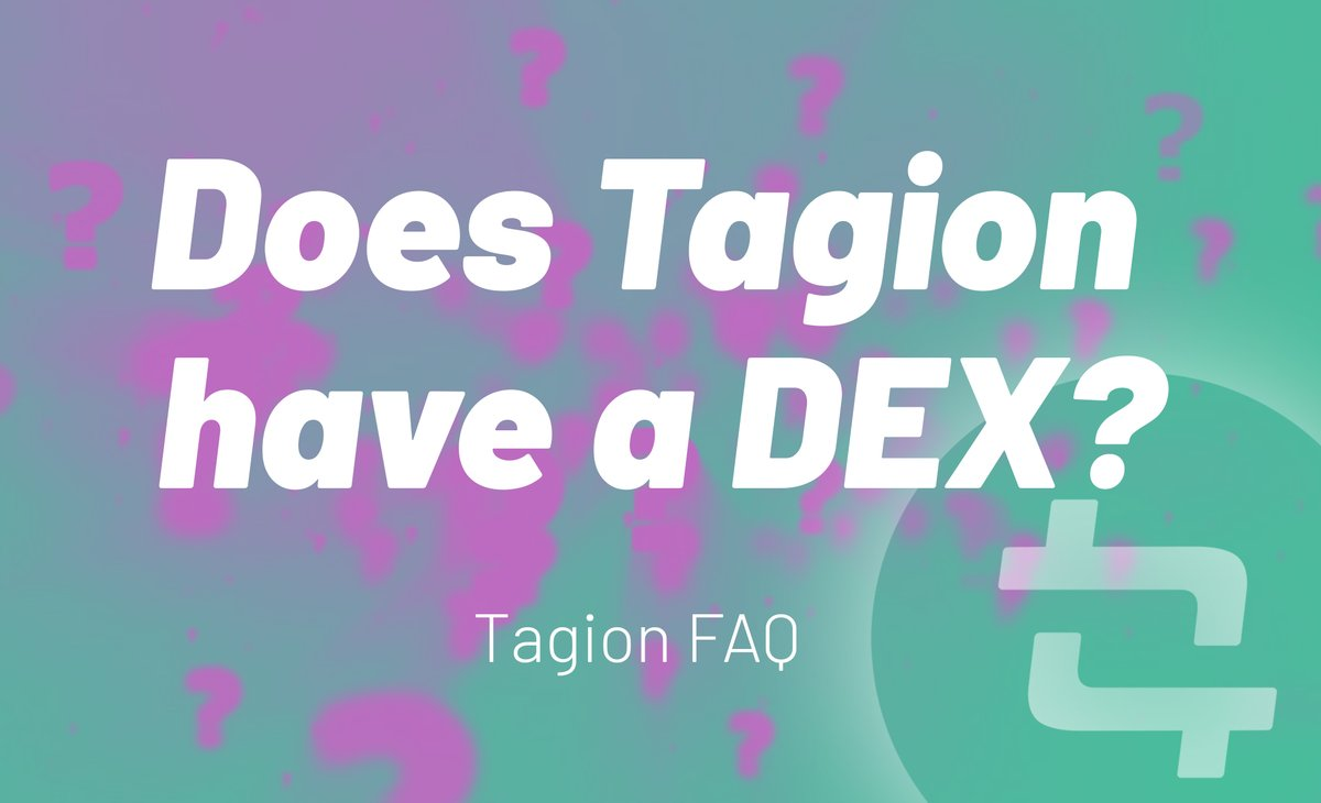 Tagion FAQ #4   Find out here https://t.co/zqNFxqtYM7and join our Telegram Chat:https://t.co/nrAowO4GL8   #faq #altcoin #crypto #altcoins #telegramchat #forum https://t.co/Yz4YPCLEGI