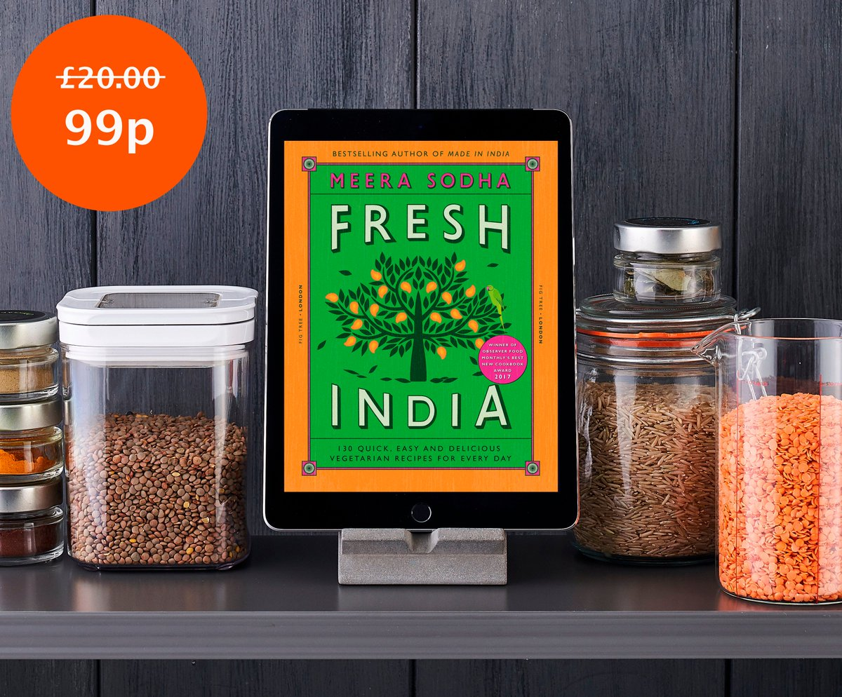 In need of a Friday pick-me-up? For today only @meerasodha's Fresh India is available to download as an e-book for just £0.99! Click here to get your copy: https://t.co/X4XoIk3rgO https://t.co/BxszNiGCpO