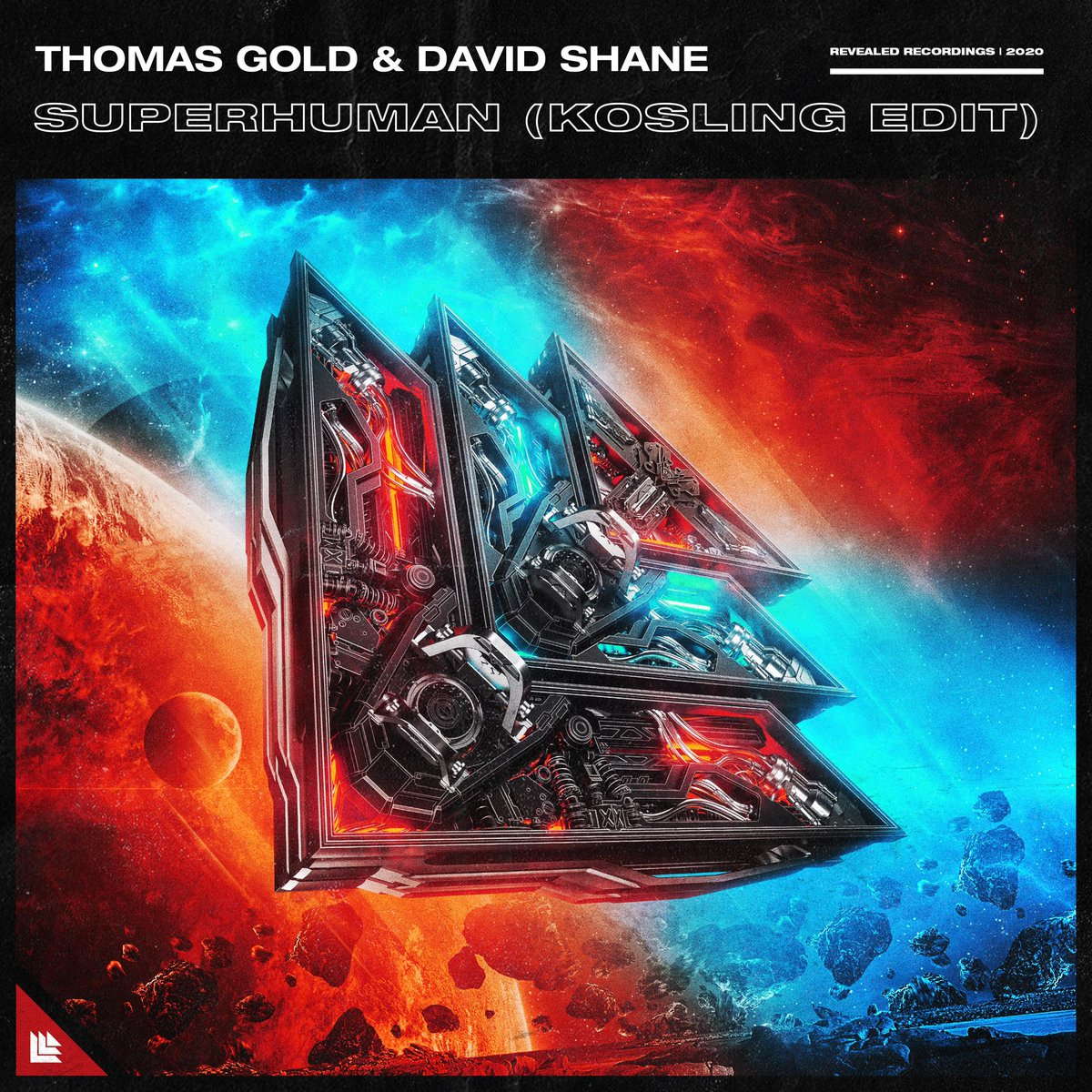 """The """"Escape"""" follow up is here! Superhuman with @thomasgold & @DavidShaneMusic is OUT NOW on @RevealedRec ! 🚀🔥🙌🏽 https://t.co/gIqan9v6rf"""