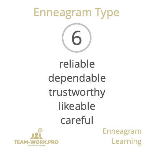 Bite sized Enneagram Learning with https://t.co/4rjw8RkUnw. Today, words associated with Enneagram Type 6. To obtain a FREE Bronze Enneagram Learning programme, just tag a friend and both your names will be entered in this week's draw.  https://t.co/N9EPf7GpDD https://t.co/udZnIfAchk