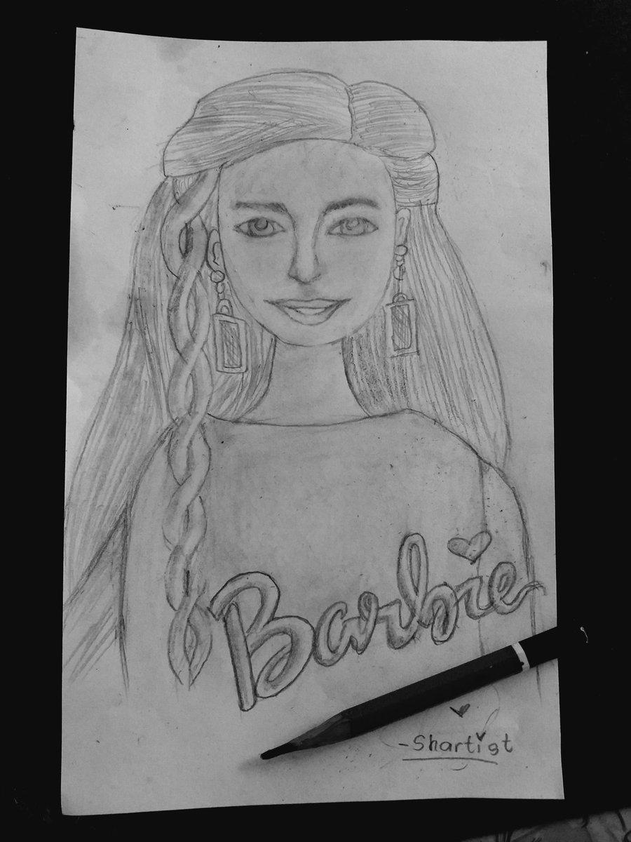 Just try sketching barbie..  no choice ksi ako eh nirequest ksi ng pamangkin ko.. #FreehandSketch pic.twitter.com/dA7Jq5Kaqe
