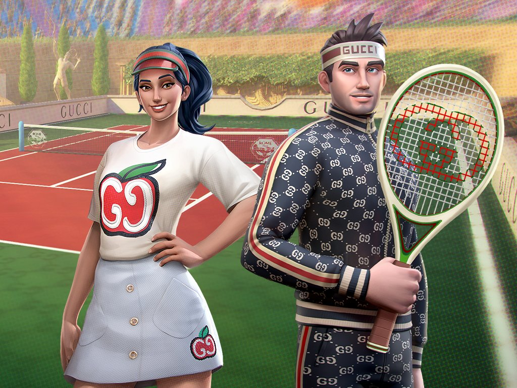 Are you excited for the new @gucci outfits that are coming? Let's give you a sneak peek on what's being prepared for you! All these outfits will become available on June 18th, for a limited time, so don't miss your chance to hop on the latest fashion trend on the court! https://t.co/bPdZ7oD84f