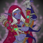 Image for the Tweet beginning: Sylvanas Windrunner fanart #WOW #Sylvanas