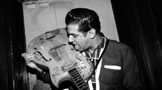 Happy birthday, Charlie Feathers, starving musician