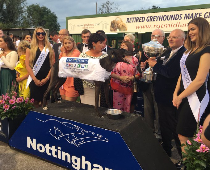 Read more about the plans for the 2020 @StarSports_Bet & ARC Greyhound Derby, to be held at @nottingham_dogs, below 👇  📌 - 96 entrants, with rounds beginning 2/3 Oct 📌 - Final on Satuday 31 Oct