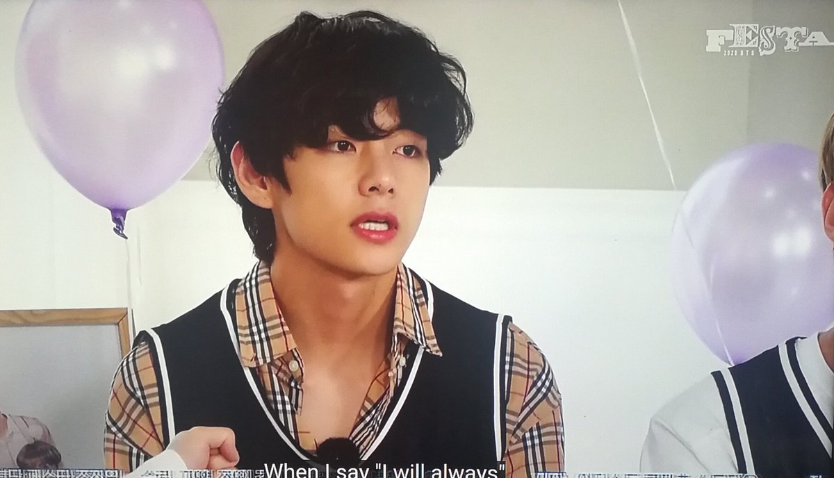 """""""Do you know what purple means? Purple is the last colour of the rainbow. Purple means I will love you and trust you for a long time."""" -Kim Taehyung, 2016 #v #TaehyungTheMostPrecious #TaehyungYouArePerfect #BTSV  #bts #BTSARMY  #BTS7thYearAnniversary https://t.co/1gRnodkPie"""