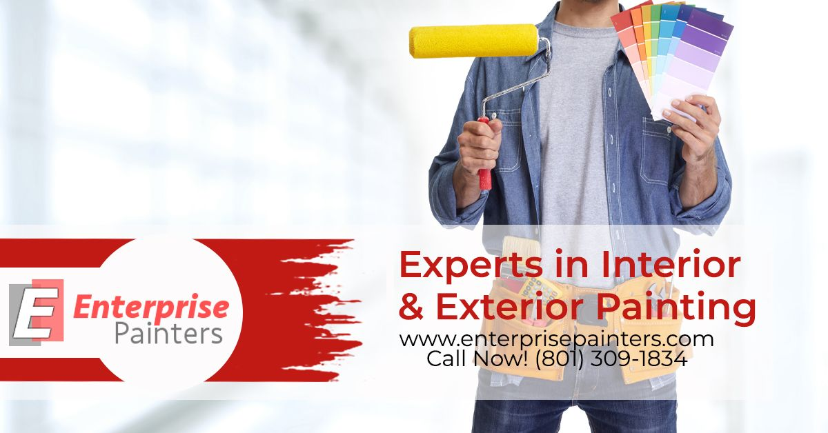 A painting service contractor can recommend the best products that will fit your budget.  Commercial Painting Centerville UT  (801) 309 1834 | Enterprise Painters Centerville UT | https://buff.ly/3bkNqV3   #CommercialPainting #ResidentialPainting #Painters #ExteriorPainters pic.twitter.com/Ulbewx543B