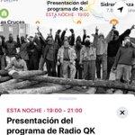 Image for the Tweet beginning: Hoy a las 19:00 presentación