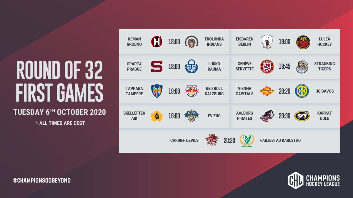 📆The schedule for the Round of 3️⃣2️⃣ has been revealed! #ChampionsGoBeyond   📰 https://t.co/MJA13bh1gw https://t.co/00Hh8j8x6e