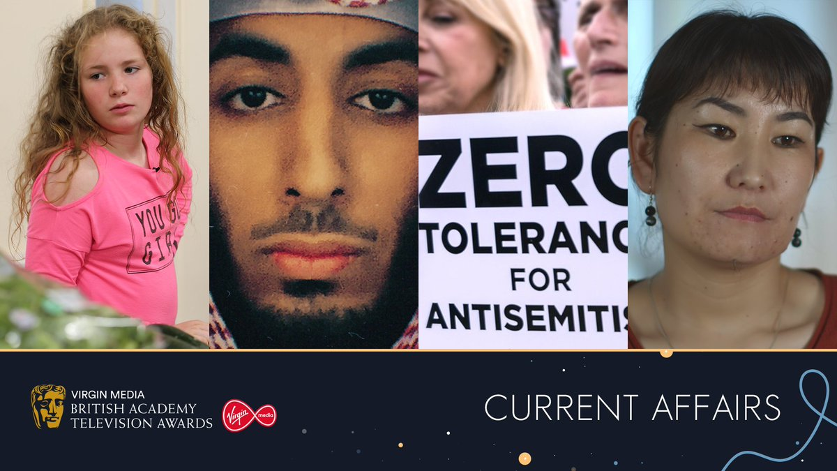 Nominated for Current Affairs at the 2020 #VirginMediaBAFTAs 👏🌍 📺 Growing Up Poor: Britains Breadline Kids (Dispatches) 📺 The Hunt for Jihadi John 📺 Is Labour Anti-Semitic? (Panorama) 📺 Undercover: Inside Chinas Digital Gulag (Exposure)