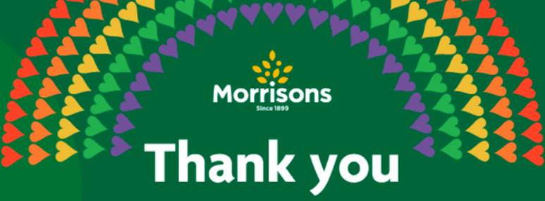 As a big thank you Morrisons are offering NHS staff 10% discount and more. See: my.morrisons.com/more/#/nhs