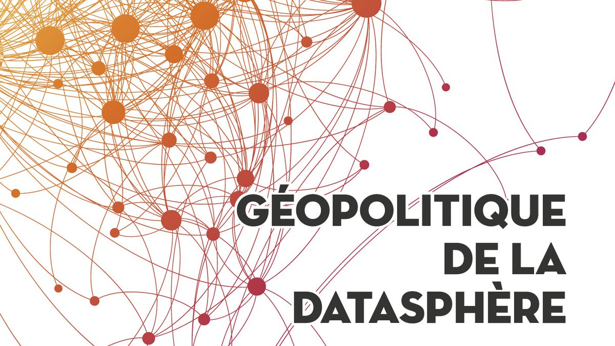 """📙🍾The new issue of the @RevueHerodote """"Geopolitics of the #Datasphere"""" is out! Dedicated to the stakes of the digital revolution, it's directed by Frédérick Douzet, director of GEODE, a project of @IFGeopolitique, led by @UnivParis8 and hosted on the @CampusCondorcet. https://t.co/9Wi8wODtjF"""