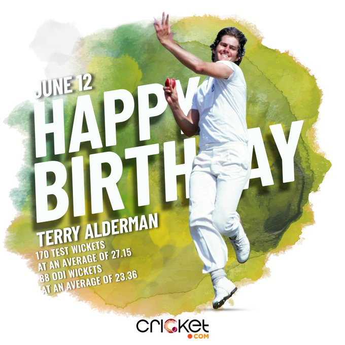 Happy Birthday Terry Alderman  The former Aussie pacer turns 64 today.