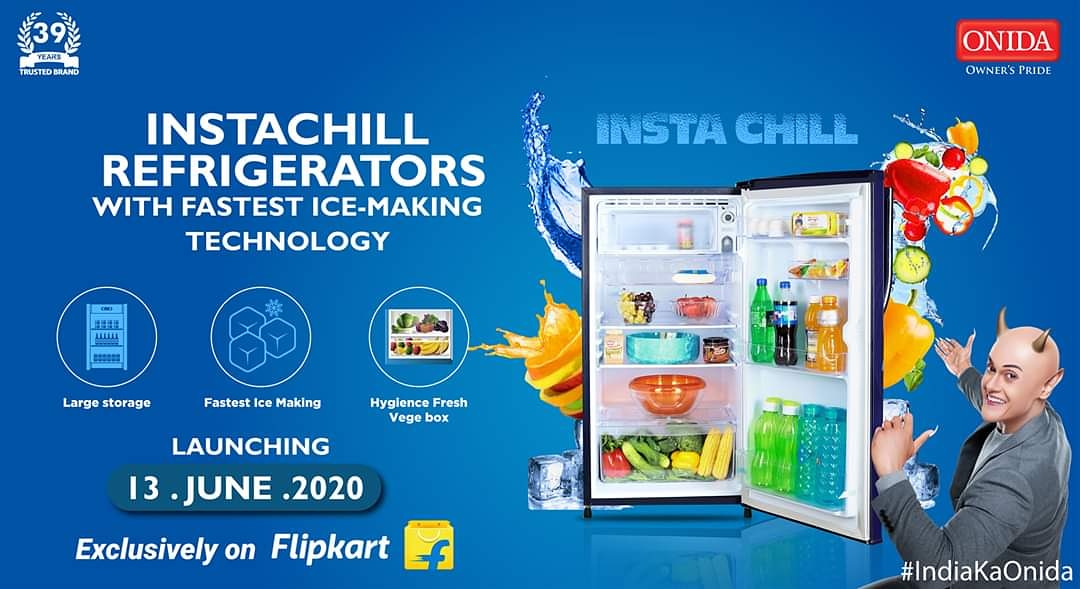 The wait is almost over! #IndiaKaOnida introduces Instachill refrigerators exclusively on flipkart. It's time to experience what we mean by INSTACHILL!! Get a Pre-Launch peek here - https://t.co/C3d7BC5LGR. . #IndiaKaOnida #InstaChill #India #Refrigerator #NewLaunch #Flipkart https://t.co/rcfhjlO1i7