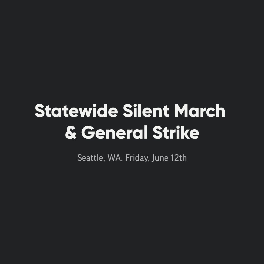 We are closed today in recognition of the statewide silent march and general strike organized by Black Lives Matter. If you are not striking today, we encourage you to educate yourself on supporting sustainable and long-term change, erasing racism, and hate from our society. https://t.co/t0y1HQmkhG