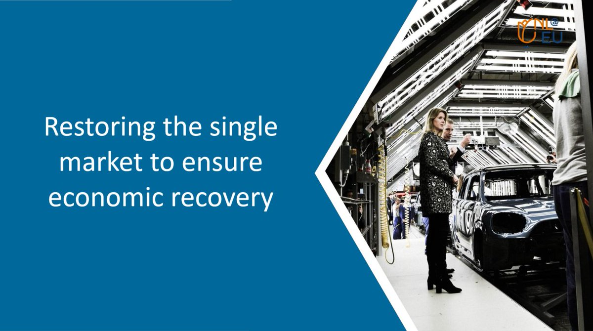'The economic recovery should focus on the #digital transition and innovation to strengthen competitiveness in the long run.'   @MonaKeijzer emphasized this message at today's #COMPET. We need urgent collective effort to restore the #SingleMarket and ensure economic recovery.