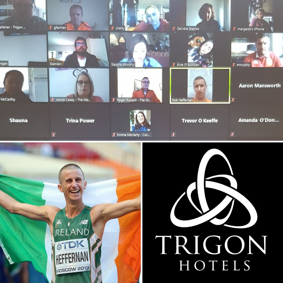 Thank you @sandramurphy999 of @TrigonHotels for organising a Health and Wellbeing guest speaker in @RM_Heffernan who spoke to the team this afternoon sharing his advice and life experiences. #themetropolehotel #corkinternationalhotel #corkairporthotel #wearetrigon https://t.co/m7rq6zNLL5