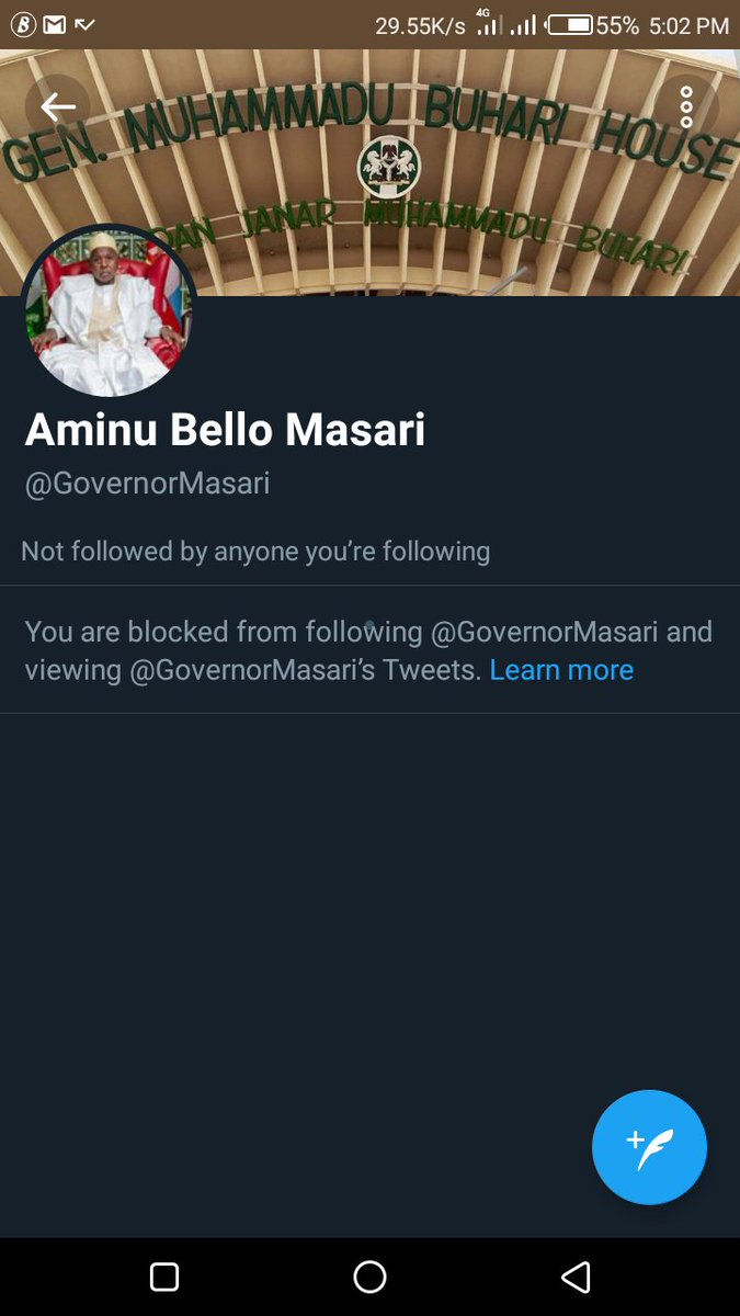 Is this a democratic state? We don't have any rights to question the government at all?  1st frame is my Governor  2nd frame is his ally  They all blocked me, just because I demand a good governance. #DemocracyDay #NorthernLivesMatter  #NYCKatsina #PrayForKatsina  @elder_muhammad<br>http://pic.twitter.com/Cw2rLYgPcN