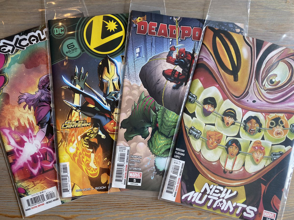 Ending the week by picking up some comics!