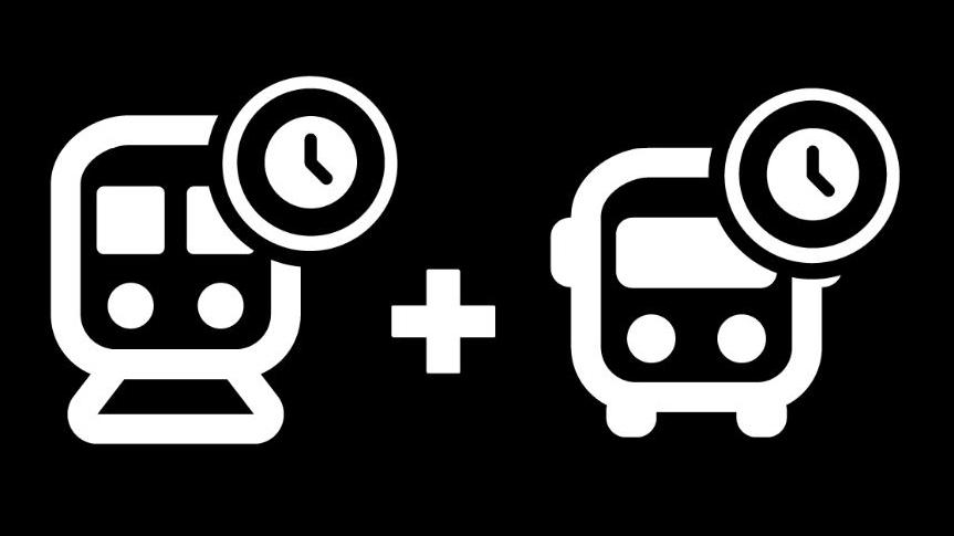 [Horaires d'été, dès le 22 juin] 🚆🚍🕓 Vous pouvez maintenant consulter les horaires d'été de nos services d'autobus et de trains, réduits selon la demande prévisible.  Horaires d'été des autobus:  👉https://t.co/aBnHaa4p9Z  Horaires d'été des trains:  👉https://t.co/ZtW6f4yNTQ https://t.co/8mU7uyKLb5