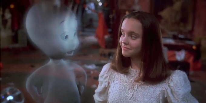 Happy 39th birthday to Malachi Pearson, who voiced CASPER in the 1995 film!  Boy, do I feel old...