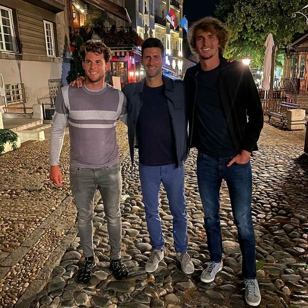 Novak Djokovic On Twitter Quite Grateful To Welcome My Friends To My City Feels Good To Have An Opportunity To Show Them Where I Come From The Beauty Of This Place And