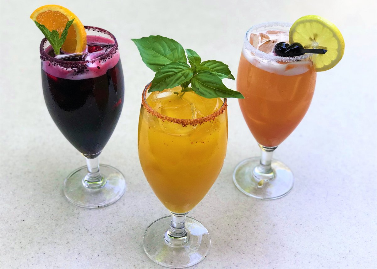Aguas Frescas are light non-alcoholic beverages made with fresh fruit. A great way to beat the heat!
