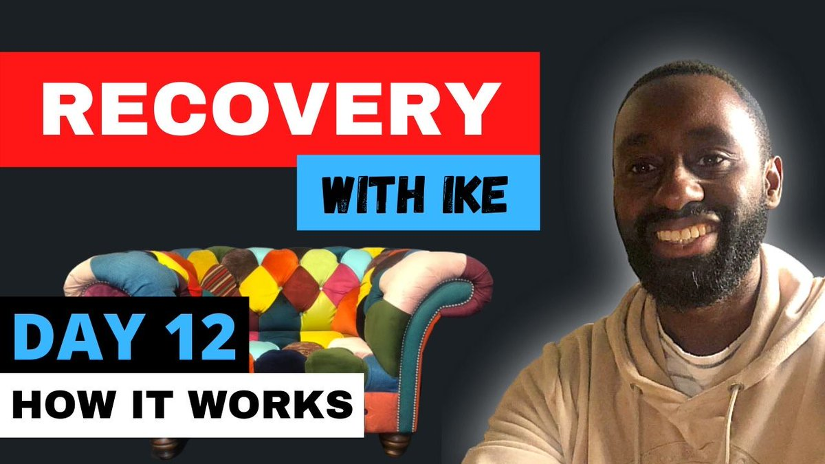 Day 12 - How It Works - #RecoveryWithIke .  #ChildOfGod #ChildOfGodTeam #ChildOfGodMovement #Recovery #Drugs #Alcohol #ExpectTheUnexpected #ThankYou #GodBless #StaySafe #Addiction #Life #MyStory #MyJourney #Support #Donate #MasksForAfrica #MasksForNHS  https://t.co/7ZDR4edqrB https://t.co/As0VHGou3u