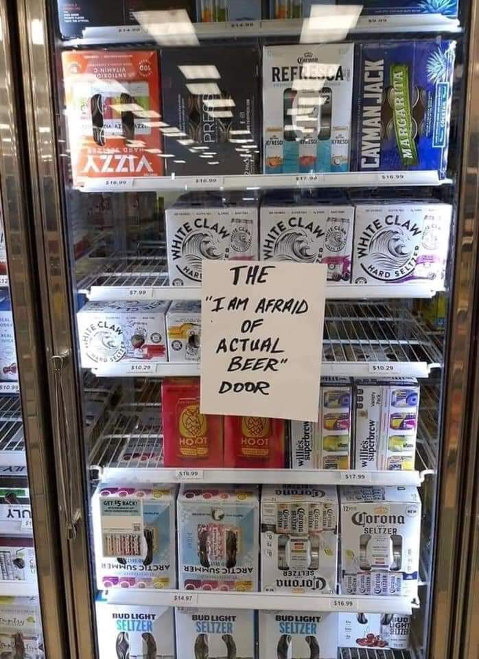 Hey @ToneDigz is this the door for you since your are the white claw guy? https://t.co/Yt8ykFzQVt
