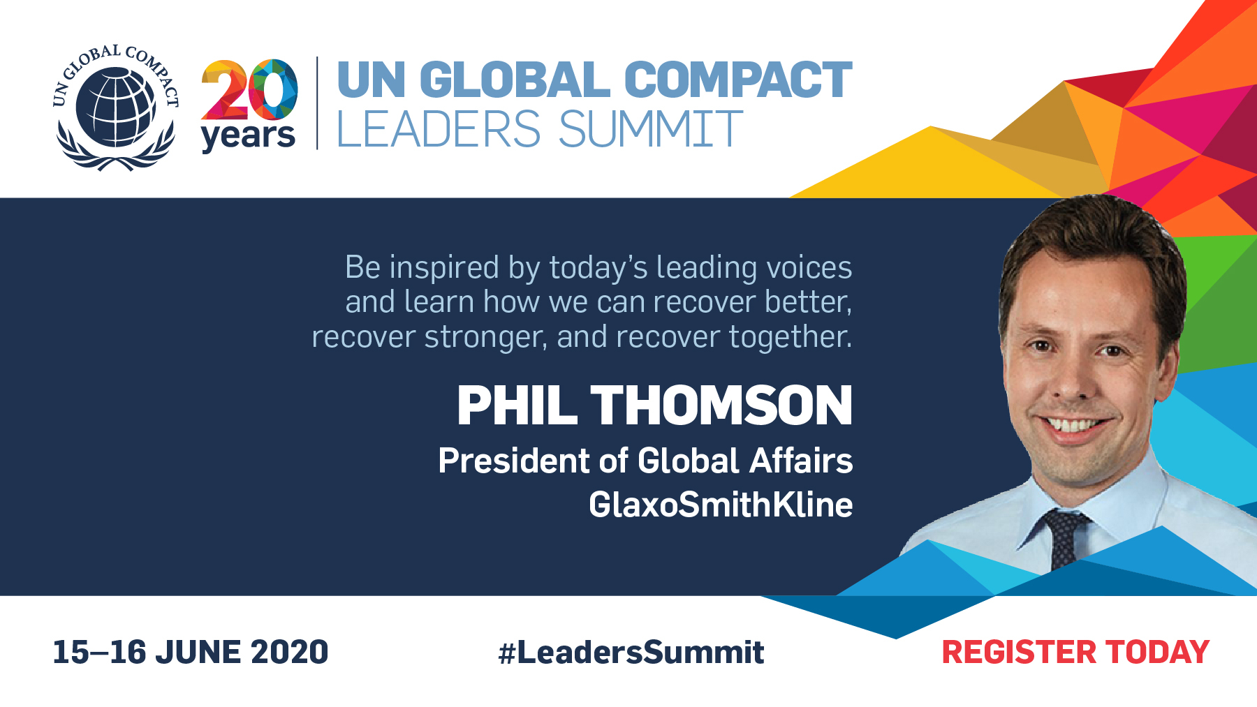 On 15 June, our President Global Affairs, Phil Thomson, will join the UN @globalcompact virtual #LeadersSummit to speak on #UnitingBusiness to build a health-resilient world. https://t.co/bTr3G1Seju