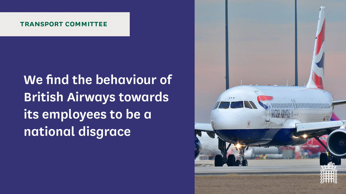 ✈️Today we have published our report into the impact of coronavirus on aviation  Read it here: https://t.co/RiRUxiac27  We examined in detail British Airways' plans to consult on up to 12,000 redundancies and downgrade the terms and conditions of approximately 35,000 employees https://t.co/YVaPgThRmY