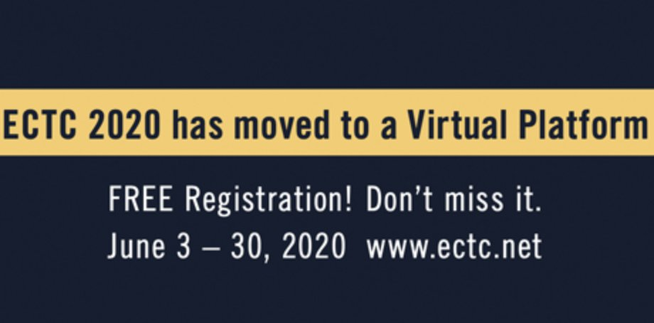 ECTC 2020 has gone virtual!  ASE is a proud conference sponsor and pleased to deliver presentations that have been made accessible to all ECTC registrants. Please register to hear these plus a talk from ASE's Bill Chen on HIR. #fanout #SiP #StaySafe https://t.co/tz0Ak96b6s https://t.co/Voyxx3A16j