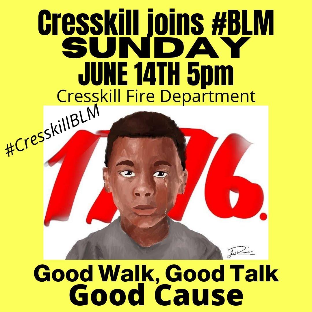#cresskillblm #cresskillnj #cresskill   #blacklivesmatter   #englewoodnj #teanecknj #leonianj #tenaflynj #closternj #bergenfieldnj #demarestnj #blmbergencounty #blmnewjersey https://t.co/iRCvwL1DLw