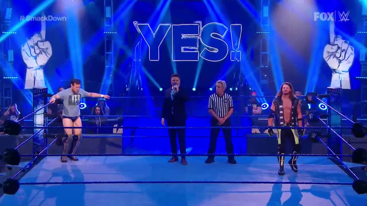 AJ Styles Defeats Daniel Bryan To Capture The Vacant WWE Intercontinental Title
