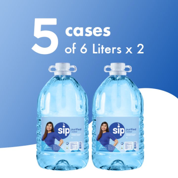 Visit our Lazada page to order Sip's newest 6L! https://t.co/eASvNTcSoT #SipKaMuna https://t.co/Uud9flN6BH