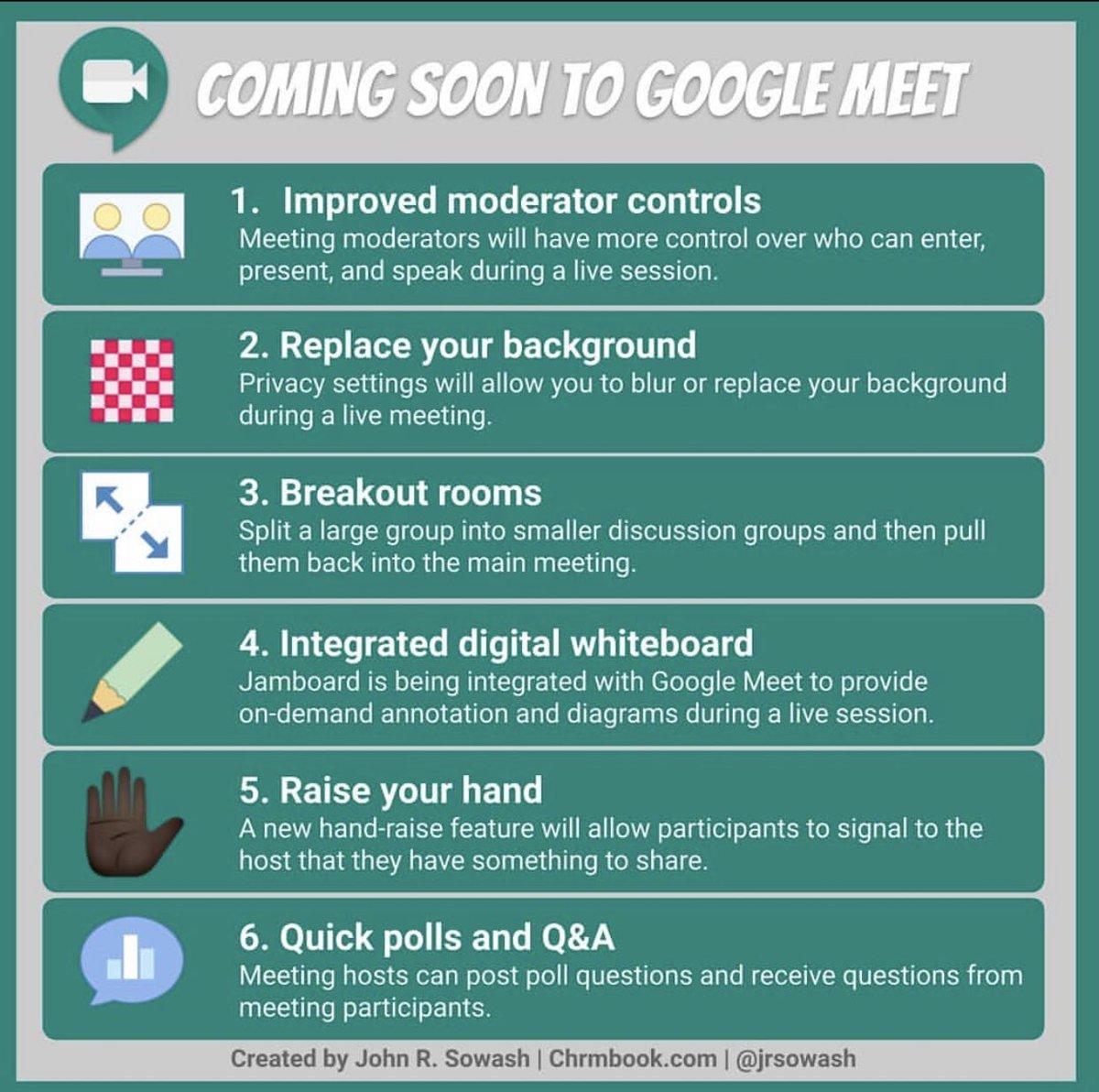 Coming soon to google meet 👍🏼