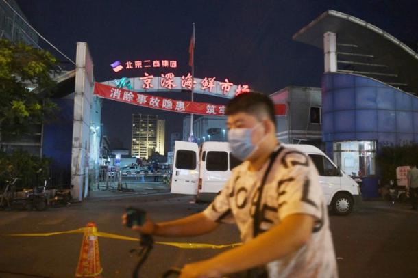 Teile von Peking